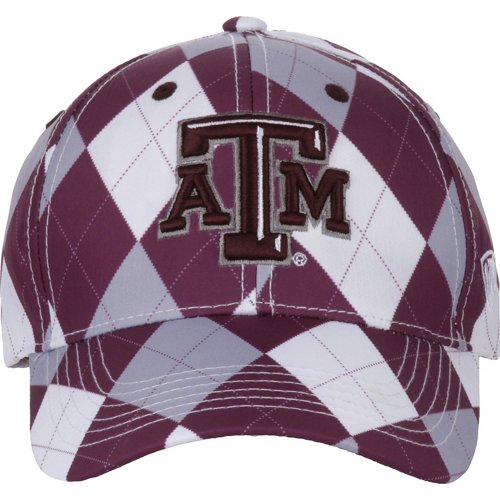 Top of the World Men's Texas A&M University Out Loud 3-Tone Cap