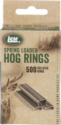 LEM Hog Rings 500-Pack