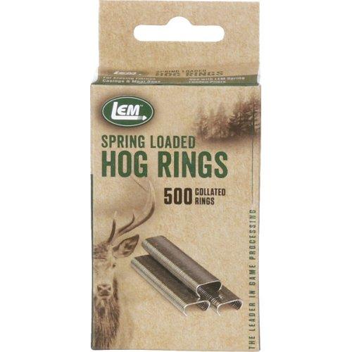 LEM Hog Rings 500-Pack