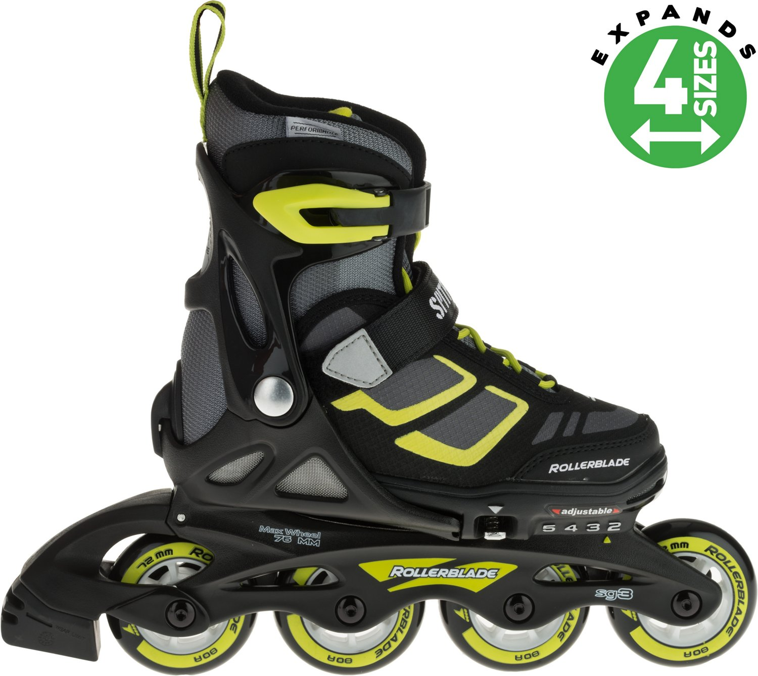 Display product reviews for Rollerblade Boys  Spitfire XT In-Line  Adjustable Skates 11720901ef1