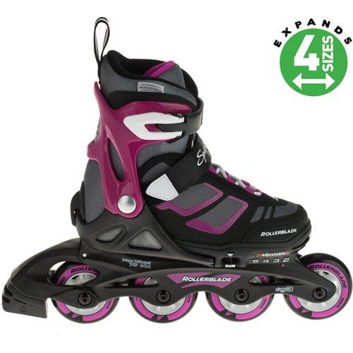 Rollerblade Girls' Spitfire XT In-Line Adjustable Skates
