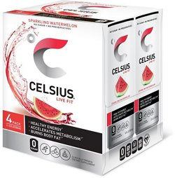 Celsius Flavored Energy Drinks 4-Pack