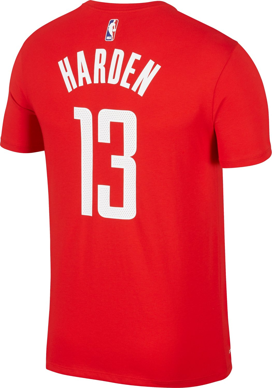finest selection b219f c4016 Nike Men's Houston Rockets James Harden 13 Name and Number T-shirt