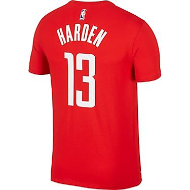 finest selection 759d5 3a1e0 Nike Men's Houston Rockets James Harden 13 Name and Number T-shirt