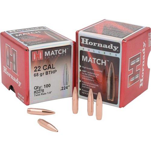 Hornady BTHP .22 68-Grain Bullets