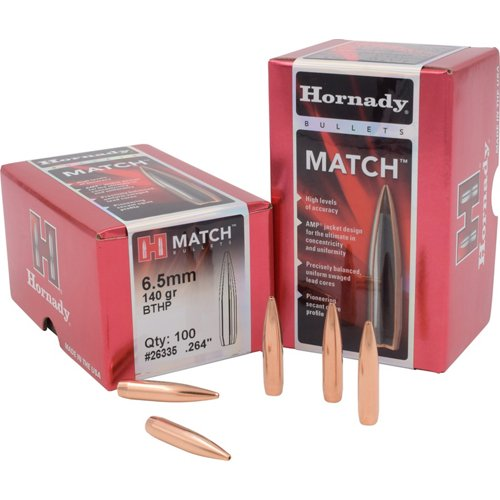 Hornady BTHP Match™ 6.5 mm 140-Grain Bullets