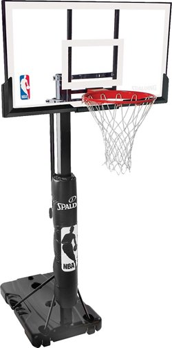Spalding 54 in Portable Acrylic Basketball Hoop