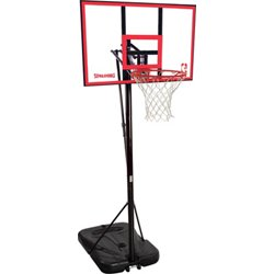 44 in Portable Polycarbonate Basketball Hoop