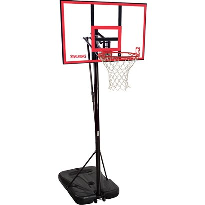Spalding 44 in Portable Polycarbonate Basketball Hoop  ea9b162c9