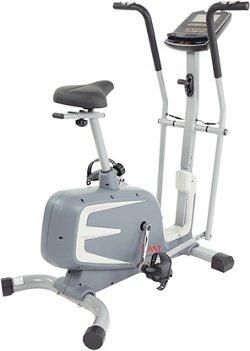 Sunny Health & Fitness Cross Training Magnetic Upright Bike