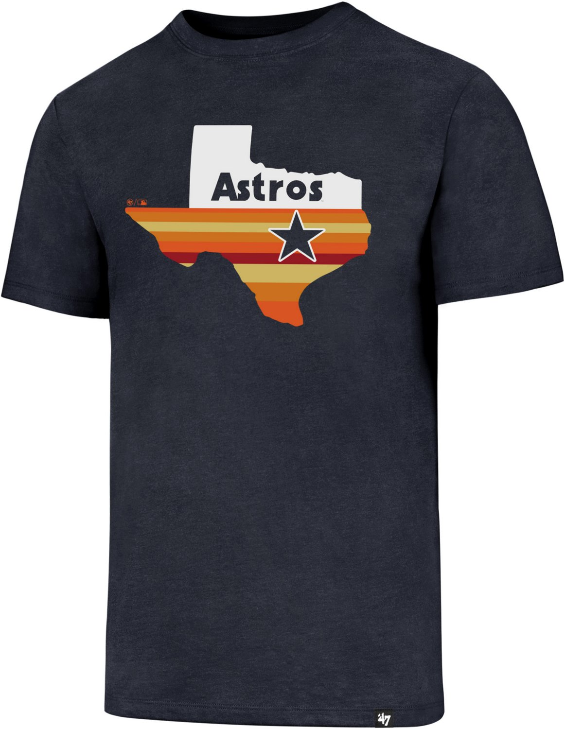 f189ba98987 Display product reviews for  47 Houston Astros Rainbow State Cooperstown  Regional Club T-shirt