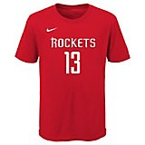 ae5a8888a Nike Boys  Houston Rockets James Harden 13 Icon T-shirt