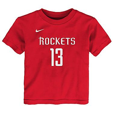 huge selection of 9eb0a 60ff7 Nike Toddlers' Houston Rockets James Harden 13 Icon T-shirt