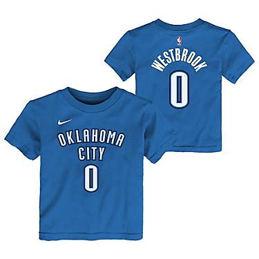 separation shoes 3ca23 9da65 Nike Boys' Oklahoma City Thunder Russell Westbrook 0 Icon T-shirt