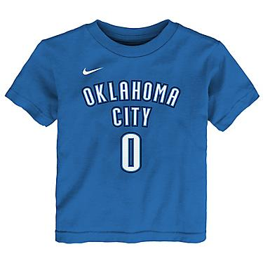 separation shoes ec997 c115c Nike Boys' Oklahoma City Thunder Russell Westbrook 0 Icon T-shirt