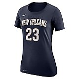 d58212a23 Women's New Orleans Pelicans Anthony Davis 23 Name and Number T-shirt.  Quick View. Nike