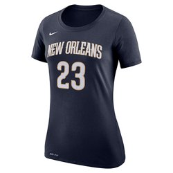 Women's New Orleans Pelicans Anthony Davis 23 Name and Number T-shirt