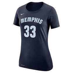 Nike Women's Memphis Grizzlies Marc Gasol 33 Name and Number T-shirt
