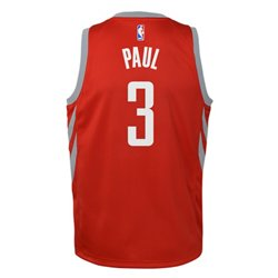 Nike Boys' Houston Rockets Chris Paul 3 Swingman Icon Jersey
