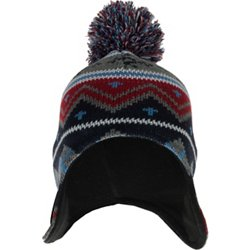Boys' Navajo Printed Peruvian Knit Hat