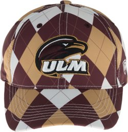 Top of the World Men's University of Louisiana at Monroe Out Loud 3-Tone Cap