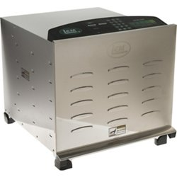 Big Bite Digital Stainless Steel Dehydrator with Stainless Steel Trays