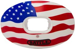 Battle Oxygen American Flag Football Mouth Guard