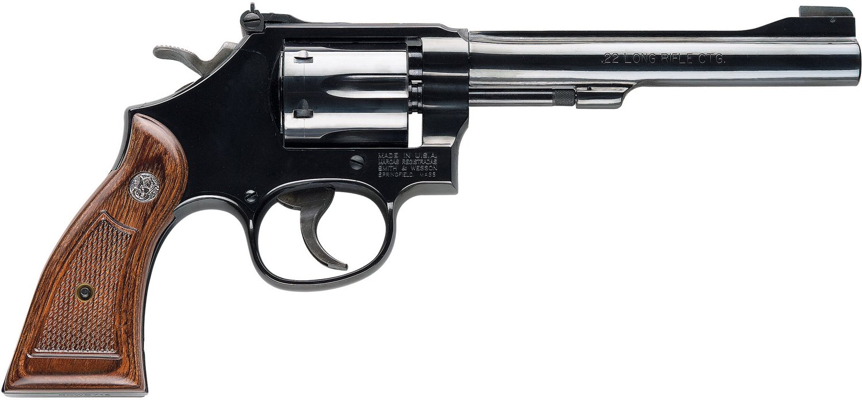 Smith & Wesson Model 17 Masterpiece  22 LR Revolver