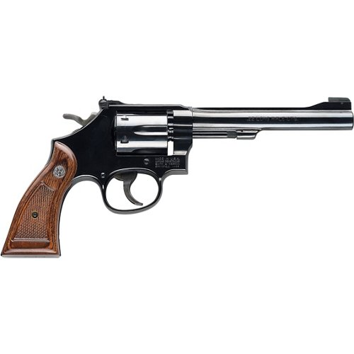 Smith & Wesson Model 17 Masterpiece .22 LR Revolver
