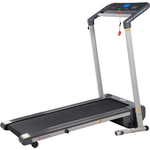 Sunny Health & Fitness Space-Saving Folding Treadmill