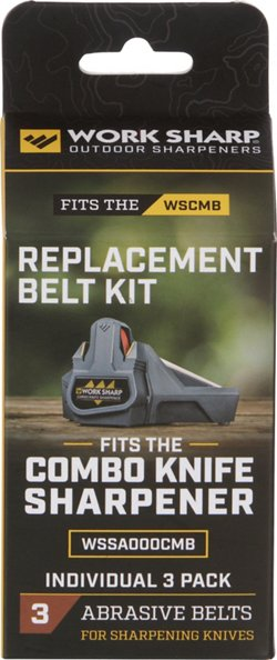 Work Sharp 1/2 in x 10 in P120 Replacement Belt Kit