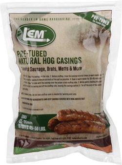 LEM Pre-Tubed Natural Hog Casings