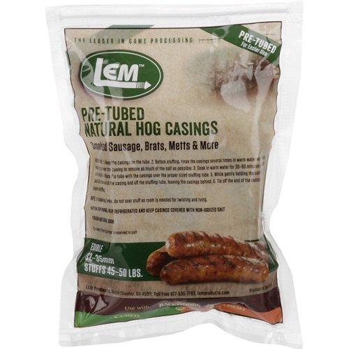 LEM Pre-Tubed Natural Hog Casings