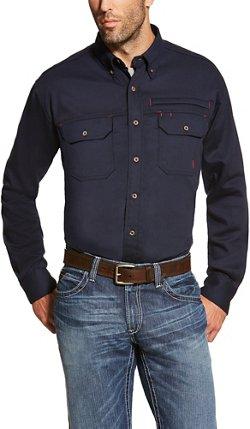 Ariat Men's FR Solid Vent Shirt
