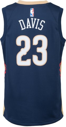 Nike Boys' New Orleans Pelicans Anthony Davis 23 Swingman Icon Jersey