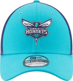 New Era Men's Charlotte Hornets On Court 2-Tone 39THIRTY Cap
