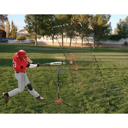Flop Top Batting Tee and Big Play Net Set