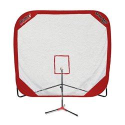 Spring Away Pro Net and Flop Top Batting Tee Set