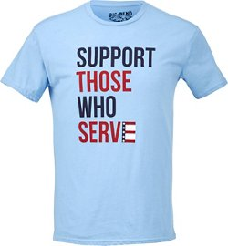 Big Bend Outfitters Men's Support Those Who Serve T-shirt