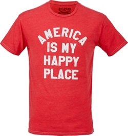Men's America Is My Happy Place T-shirt