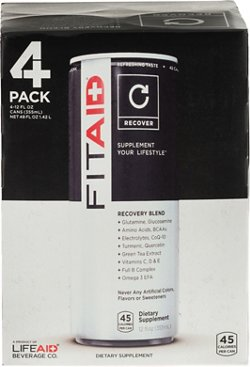 LifeAid Beverage Company Recovery Drinks 4-Pack