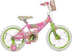 Shopkins Girls' 16 in Bike