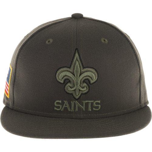 New Era Men's New Orleans Saints Salute to Service '17 59FIFTY Cap