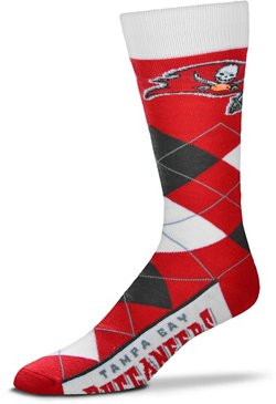 For Bare Feet Tampa Bay Buccaneers 505 Argyle Line Up Socks