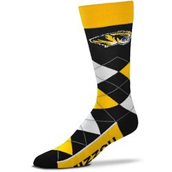 Men's University of Missouri Argyle Line Up Socks