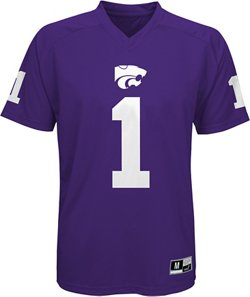Boys' Kansas State University Football Jersey Performance T-shirt