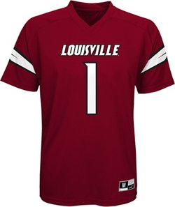 Boys' University of Louisville Football Jersey Performance T-shirt
