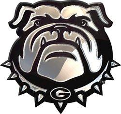 Stockdale University of Georgia Chrome Logo Auto Emblem