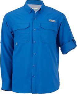 Columbia Sportswear Men's Blood and Guts III Long Sleeve Woven Fishing Shirt