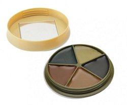 HME Products 5-Color Camo Face Paint Kit